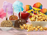 Popcorn and cotton candy concession supplies