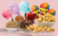 Popcorn, Cotton Candy, and Snow Cone supplies by Gil's Wholesale.