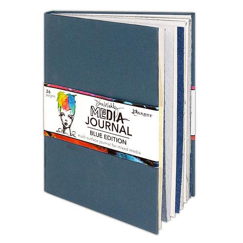 "Dina Wakley Media Journal ""Blue Edition"""