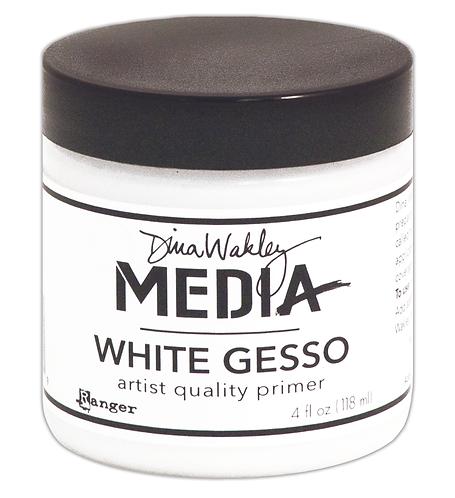 White Gesso Dina Wakley