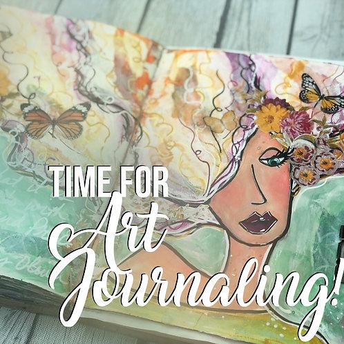 Online Class: Mixed Media Art Journaling