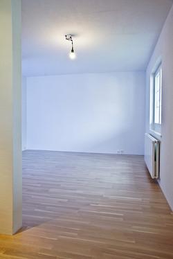 Zimmer mit Parkett
