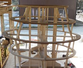 Projekt: Jugendfest Villmergen - Unterkonstruktion für den Troll bauen