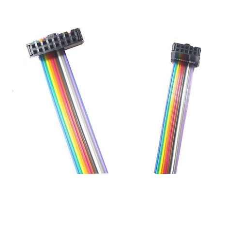 16-PIN to 10-PIN Header Eurorack Rainbow Ribbon Cable Euro Rack Modular Synth Analogue Synthesizer Connection