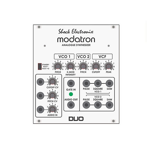 Shock Electronix Modatron DUO DIY KIT Korg Monotron DUO Analog Synth Eurorack Synthesizer Module