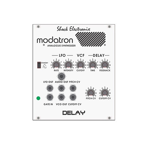 Modatron Delay - Voice and Delay Echo Eurorack Module analogue synth modular synthesizer euro rack sdiy