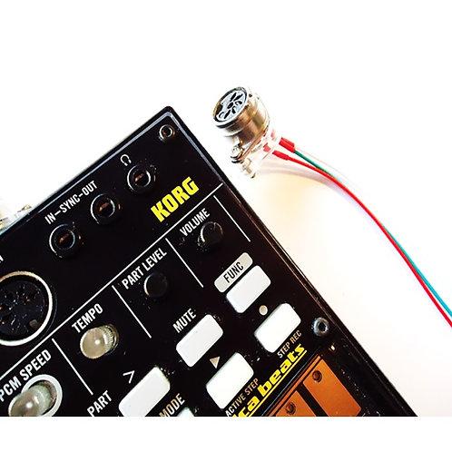 Korg Volca Midi Out Mod Shock Electronix