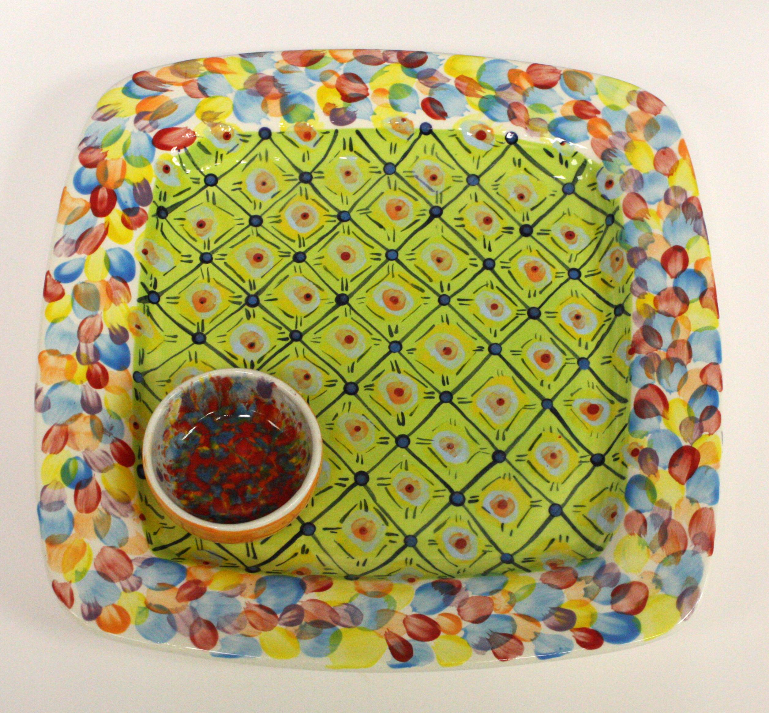 Bright platter Design