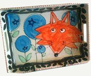 Fox platter Design