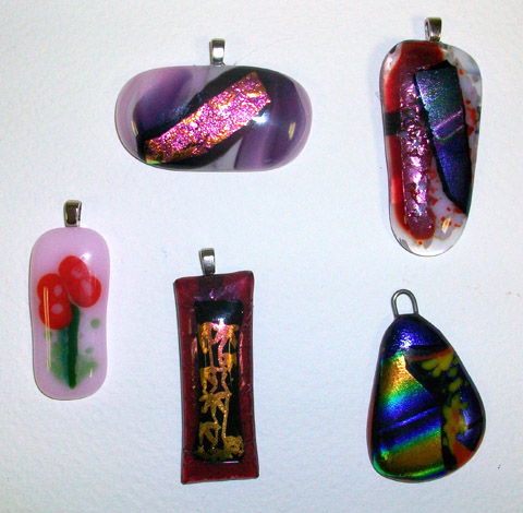 Fused Art Glass Jewelry