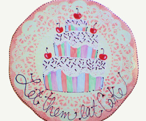 Let Them Eat Cake Design