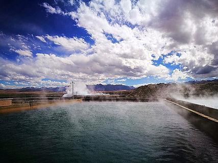 Yangpachen Hot Springs Tibet Faces