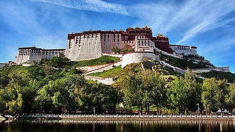 Potala Palace Tibet Faces