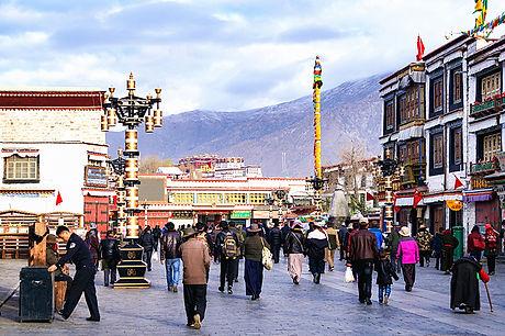 Tibetfaces Barkhor