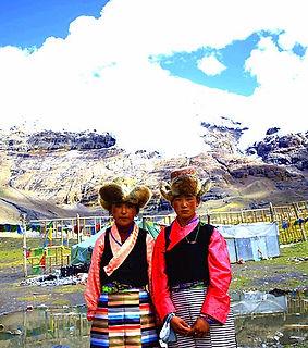 Tibetfaces  Karola Glacier