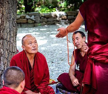 Sera Monastery Tibet Faces