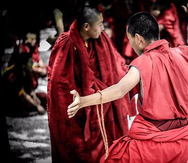 Tibet Faces Lhasa Sera Monastery