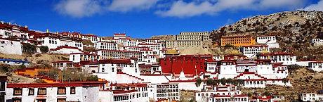Ganden Monastery Tibet Faces