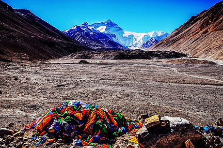 Everest Base Camp Tibet Faces