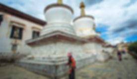 Tashilunpo Monastery Tibet Faces