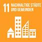 SDG 11 Nachhaltige Städte und Gemeinden.