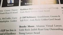 Noland Receives Arkansas Bar Association Award of Excellence