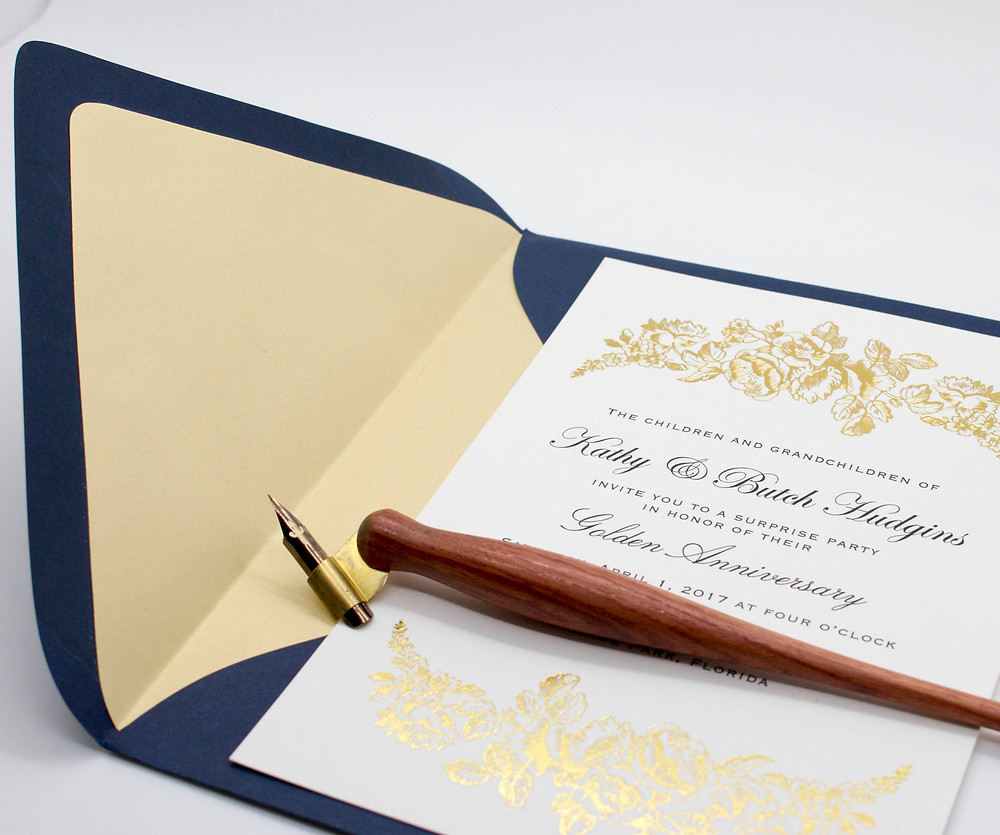 Envelope Liners add beautiful texture!