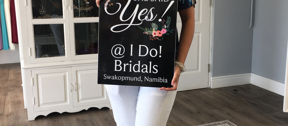 """YES"" to the dress @ I Do! Bridals ❤️"