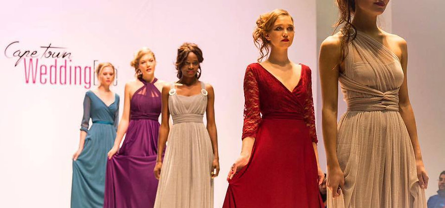 Fashion Designe and designer dresses on runway Cape Tow