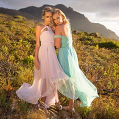 Glitter Mesh Dresses