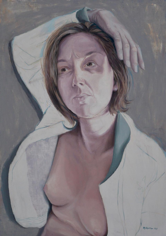 Portrait à la veste ouverte