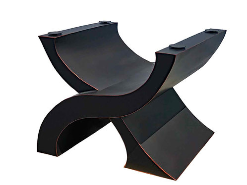 Luxury Pedestal Table Base - Wave Table