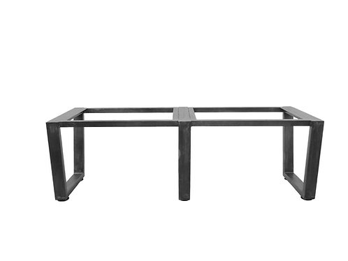 Long Trapezoid Metal Table Base   Conference Table or Dining Table Base