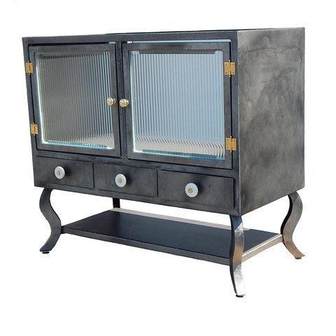 Industrial Vanity, modern vanity, custom cabinet