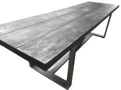 Steel Plank Table