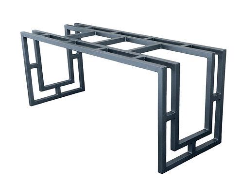 Art Deco Metal Table Base or Desk Base