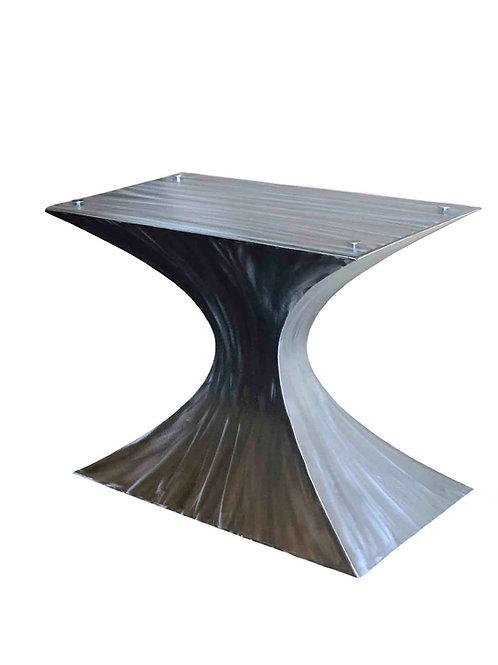Metal pedestal table base, tulip table base, hourglass table base, pedestal dining table base, conference table base