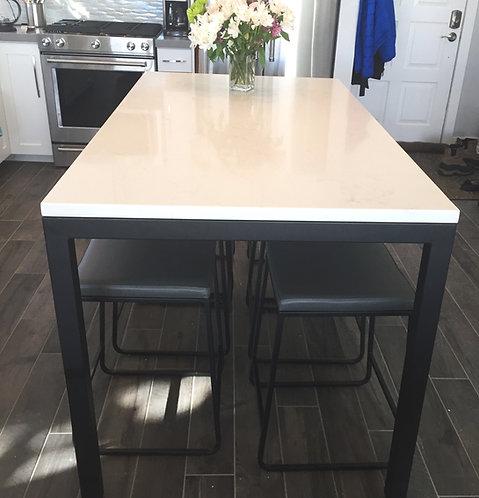 Custom Metal Table Legs   Parson Table Base for Custom Applications