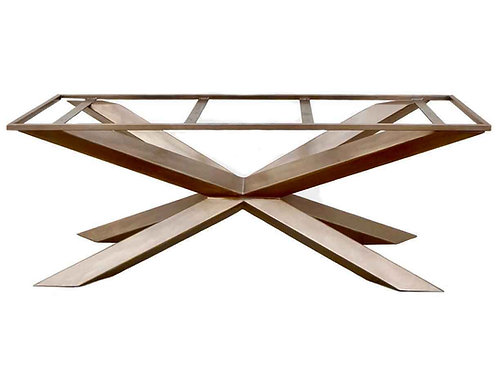 Custom Dining Table Base, Modern Dining Table, Metal Table Legs, Best steel table, Industrial Dining Table, Conference Table