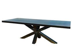 Industrial-Metal-Dining-Table