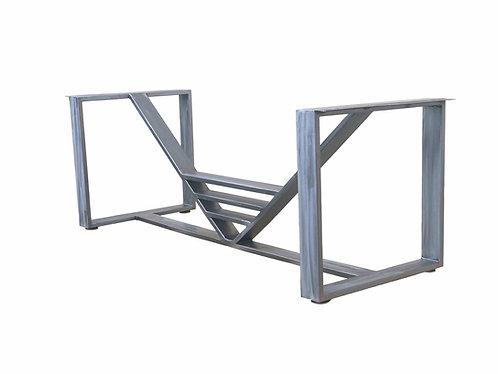 Trestle dining table, trestle desk, modern trestle table, designer trestle table, trestle conference table, trestle console