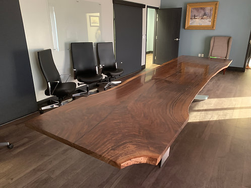 Luxury Dining Table | Statement Boardroom Table | Custom Conference Table