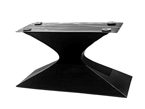 Luxury Hourglass Pedestal Table