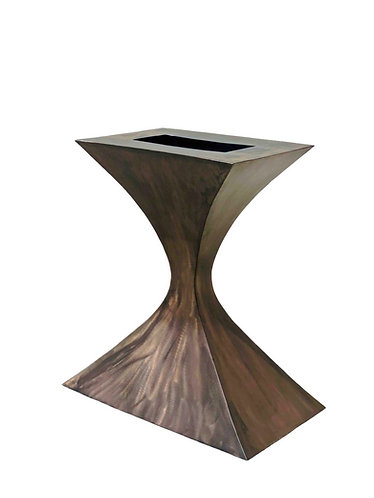 Metal Pedestal Table Base for Console or Side Table