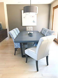 Trapezoid Dining Table Base