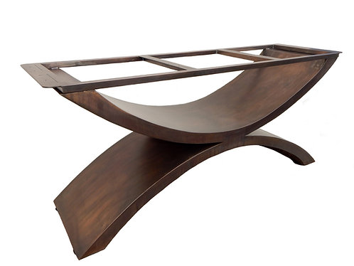 Luxury Dining Table, Bespoke Dining Table, Industrial Dining Table, High End Dining Table, Custom Metal Table Base