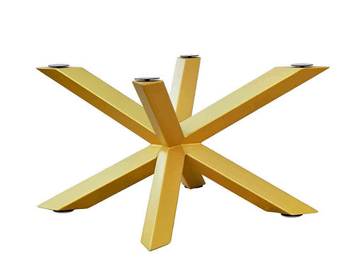 Glass Dining Table - Cross