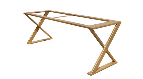 Metal Dining Table Base   Console Table Base   Desk Base   Z Table