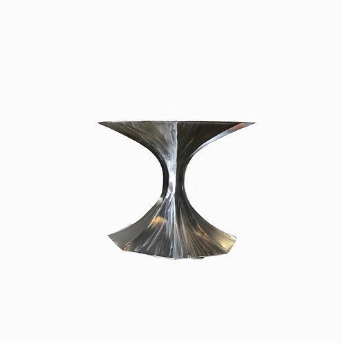 tulip table, tulip style table, saarinen table, tulip dining table, tulip table base, metal pedestal table, round table base