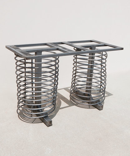 Industrial Table Base, Spring Table, Console table base